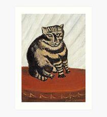 Henri Rousseau - The Tabby Art Print