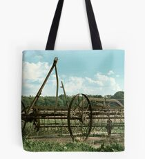 Antique Plow in Indiana Tote Bag