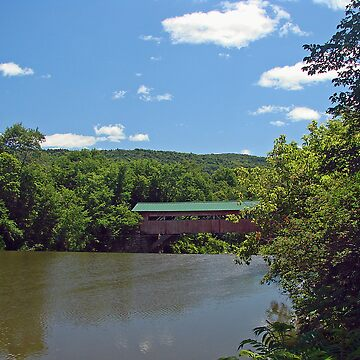 Covered Bridge, Talcottville, VT by Rhody53