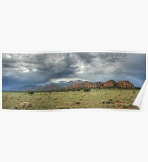 Outcropping Panorama Poster