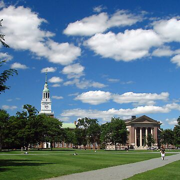 The Green, Dartmouth College, Hanover, NH by Rhody53