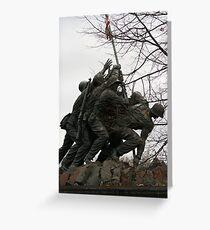 Iwo Jima another view Greeting Card