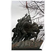 Iwo Jima another view Poster
