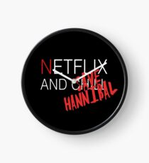 Netflix and ch-SAVE HANNIBAL Clock