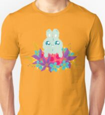Easter bunny in flowers Unisex T-Shirt