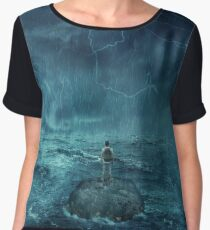 Lost in the ocean Women's Chiffon Top