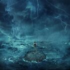 Lost in the ocean by psychoshadow