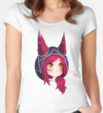 Xayah Women's Fitted Scoop T-Shirt