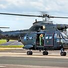 "Aérospatiale AS 330H Puma HC.2  ZJ955/P ""Black Peter"" by Colin Smedley"