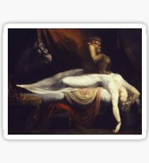 Henry Fuseli - The Nightmare1781 Sticker