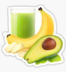 Avocado banana smoothie Sticker