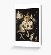 Henry Fuseli - Titania, Bottom And The Fairies1793 Greeting Card