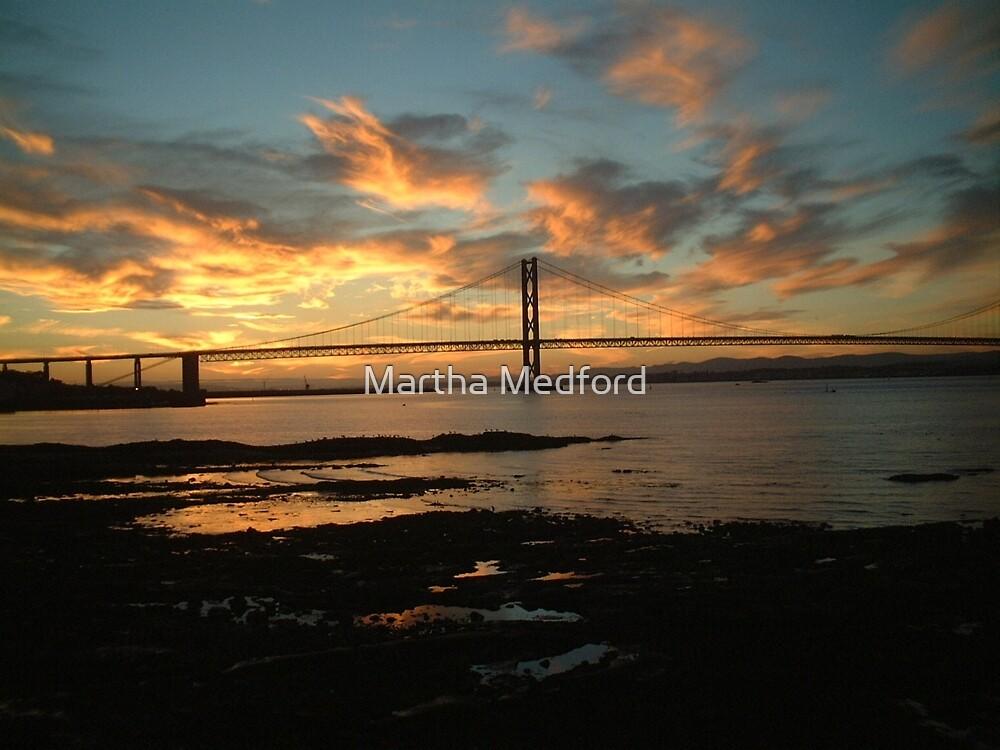 Scottish Sunset by Martha Medford