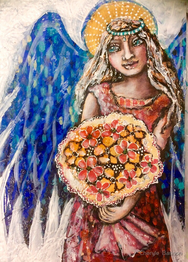Angel blessings by Cheryle  Bannon
