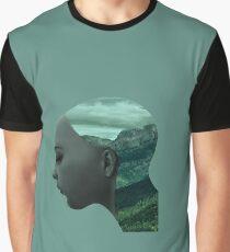 Ex Machina - Ava (Double Exposure Graphic T-Shirt