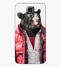 Black Bear Case/Skin for Samsung Galaxy