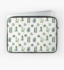 watercolour cacti and succulents Laptop Sleeve