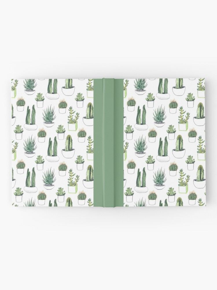 Alternate view of Watercolour cacti & succulents Hardcover Journal