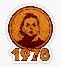 1978 (Distressed version) Sticker