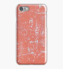 OLD CRACKED PAINT SCRATCHES ON THE METAL SHEET iPhone Case/Skin