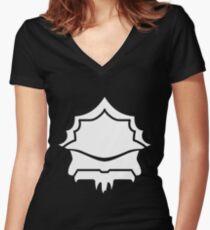 Drack (White) Women's Fitted V-Neck T-Shirt