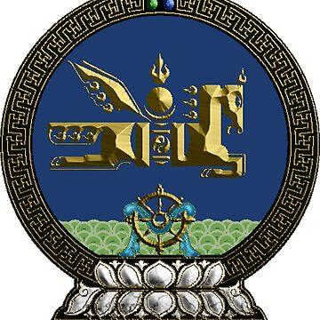 Ulaan Baatar (Mongolian Capitol insignia) by tenchimuyo4ever