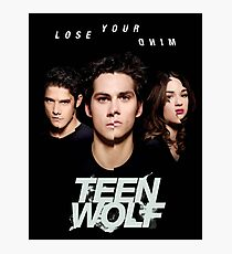 teen wolf lost your mind Photographic Print
