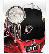 Alfa Romeo G1, 1921, Front End  Poster