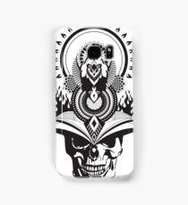 Samurai Skull Warrior Mandala Samsung Galaxy Case/Skin
