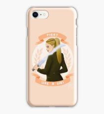 Lydia - Fight like a girl iPhone Case/Skin