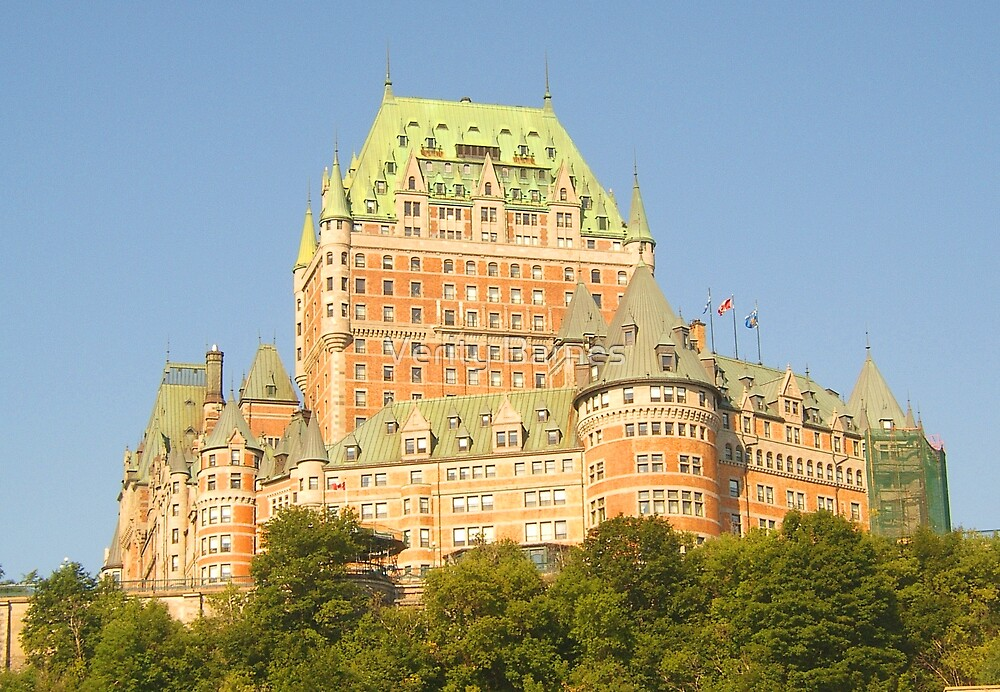 Chateau Frontenac by Verity Barnes