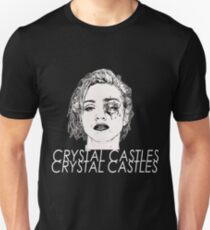 crystal castles kasdani Unisex T-Shirt
