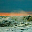 Sunrise Spring Surf by AnneDB