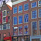 Anne Frank Home In Amsterdam by Al Bourassa