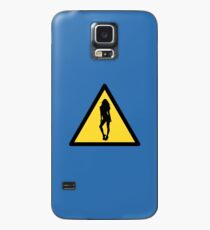 Danger : woman Case/Skin for Samsung Galaxy