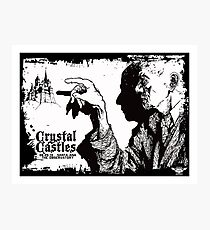 crystal castles Photographic Print