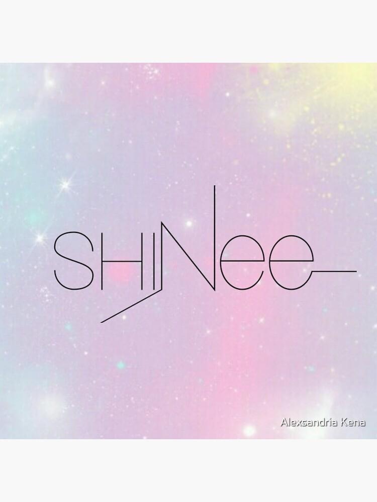 Shinee Pastellgalaxie von alexxkpopstore
