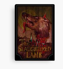 Amerikanischer Werwolf - Geschlachtetes Lamm Leinwanddruck