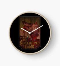 Amerikanischer Werwolf - Geschlachtetes Lamm Uhr