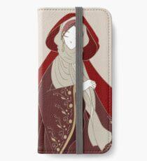 Rotkäppchen iPhone Flip-Case/Hülle/Klebefolie