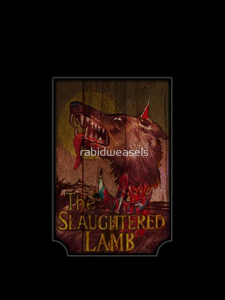 Amerikanischer Werwolf - Geschlachtetes Lamm von rabidweasels