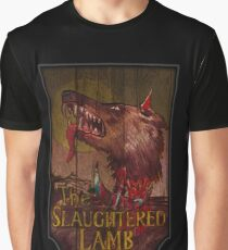 American Werewolf - Slaughtered Lamb Graphic T-Shirt