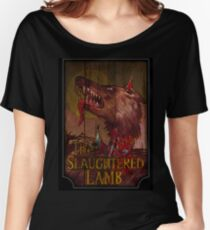 American Werewolf - Slaughtered Lamb Women's Relaxed Fit T-Shirt