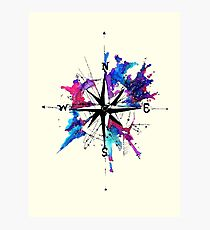 I have you as my compass Photographic Print