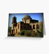 Mission San Jose in San Antonio Greeting Card