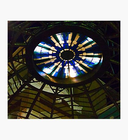 Stained Glass Sky Light Photographic Print