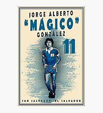 "Jorge Alberto ""Mágico"" González Photographic Print"
