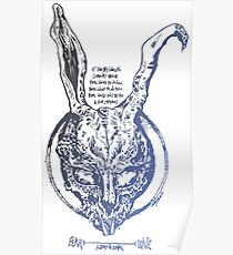 Donnie Darko Quantum Metaphysics Frank Poster