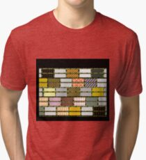 RAGGY QUILT cheater design, gifts and decor Tri-blend T-Shirt