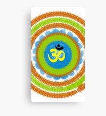 Dharma Om  Canvas Print